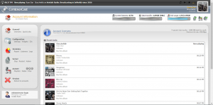 Centova Main Screen Overview